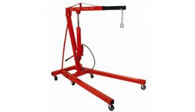 Dragway Tools 2 Ton Hoist With Air Pump Review
