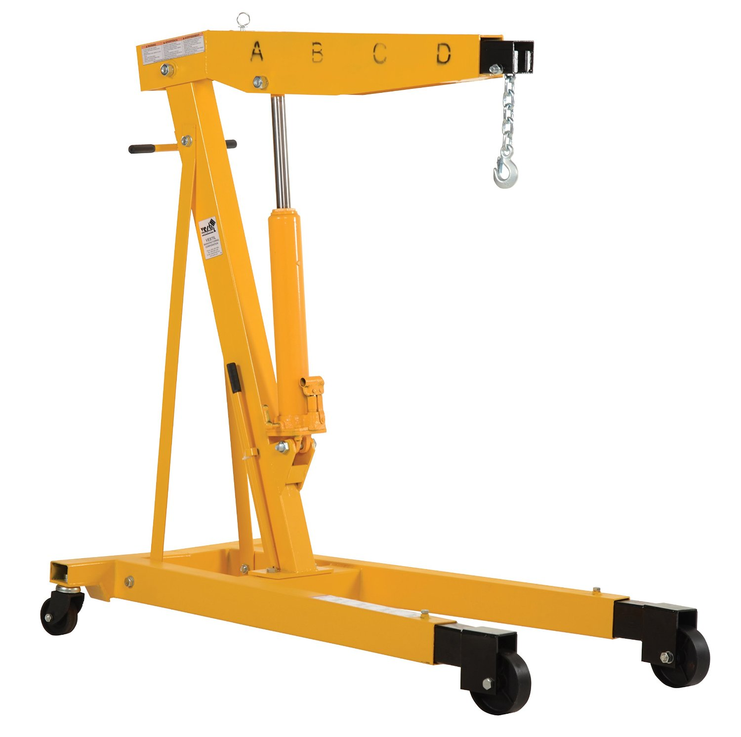 Vestil ehn 60 t engine hoist review knockoutengine for Motor lift for sale
